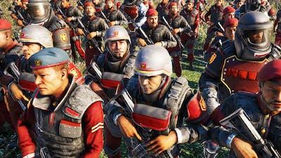 Far Cry 4 - Elite Guard Army VS Golden Path Army- AI War