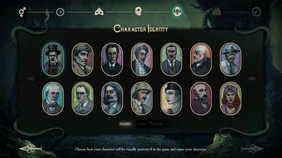 Stygian: Reign of the Old Ones - Character Creation (Beta Demo)