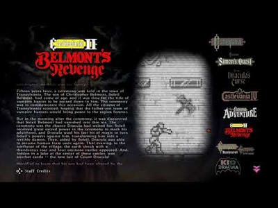 Stay At Home And Play More Games...Like Castlevania Anniversary Collection