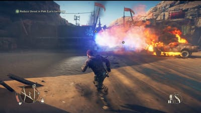 Mad Max Game: Dance Into Your Own Fire