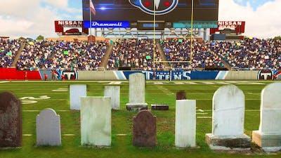 A football game where DEATH occurs
