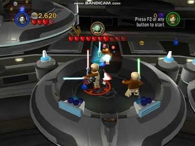 lego star wars the complete saga mod emperor  vs yoda