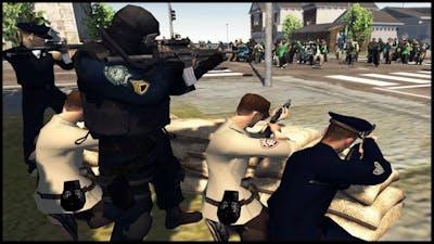 Can Riot Police Stop a Revolution?!  - Men of War: Red Rising Mod Battle Simulator