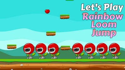 Rainbow Loom Jump Game - Let's Play - For App Store