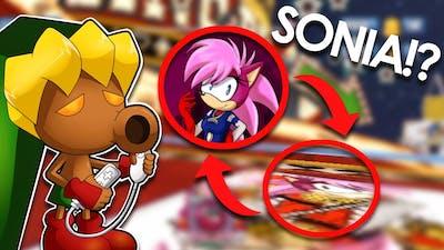 Sonia the Hedgehog in Sonic and Sega Allstars Racing - Video Game Easter Egg - Deku Gamer