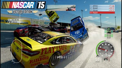 Everybody Dies: Nascar'15 The Game Victory Edition Crash, Fail and Accident Compilation (60FPS)