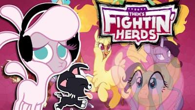 F̶l̶u̶t̶t̶e̶r̶s̶h̶y̶  Pom plays Them's Fightin Herds 🍉 | IT'S POM PLAYS NOW