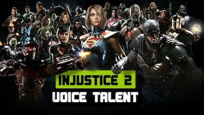 Injustice 2 - Voice Actors
