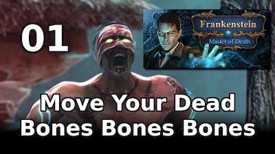 Move Your Dead Bones Bones Bones (let's Play Frankenstein: Master Of Death 01) #Chilltober