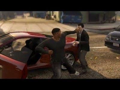Franklin Road Rage GTA V