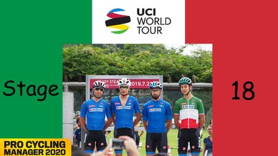 Nibali the Sprinter | UCI World Tour #18 | Pro Cycling Manager 2020