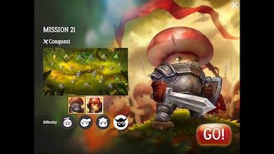 Mushroom Wars 2 - Mission 21
