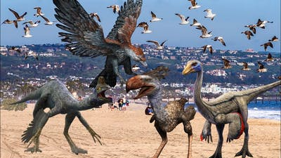 The Bird Flock Take Charge: JWA Tyrannosaurus Rex Raid