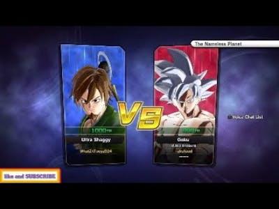 Ultra goku VS Ultra Shaggy DRAGON BALL XENOVERSE 2