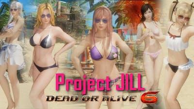 SHOWCASE! DOA6 Season Pass 2 All DLC Costumes, All Intros & All Win Poses - Project-JILL-