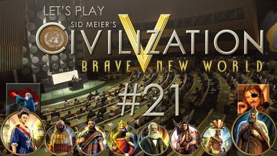 Let's Play Sid Meier's Civilization V: Brave New World - Ep. 21: CYA LATER, OKTOBERFEST! (feat. Cyclops Pirate)