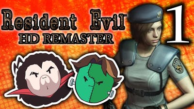 Resident Evil HD: Ugly Zombie Dogs - PART 1 - Game Grumps