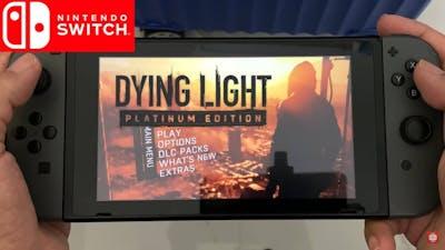 Dying Light Nintendo Switch Gameplay Handheld Mode