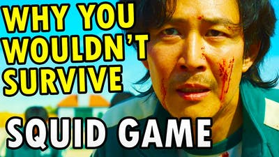 """How To Beat Every DEATH GAME In """"SQUID GAME"""" (you can't)"""
