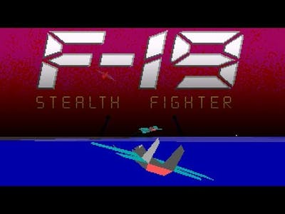 F-19 STEALTH FIGHTER (1988): Dramatic Dogfights