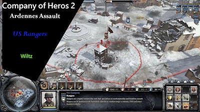 #COH2 Company Of Heroes 2 Ardennes Assault Game Walkthrough   Wiltz Watchtower US Rangers