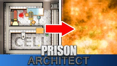 I Made A Luxury Prison And This Happened... - Prison Architect