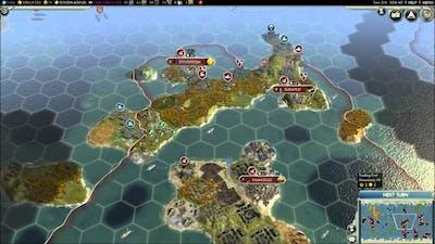 Civilization V - Episode 2, part 1 - England vs Songhai & Babylon