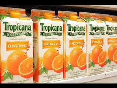 100% Orange Juice is fun