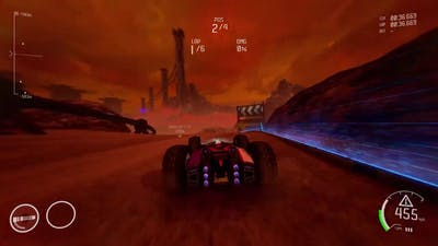 Awesome Outworld Race! (with Rollcage music) - GRIP Combat Racing