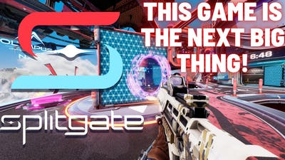 SPLITGATE GAMEPLAY - THIS GAME IS THE NEXT BIG THING!