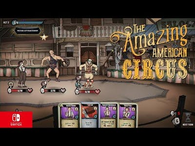 The Amazing American Circus Nintendo switch Gameplay