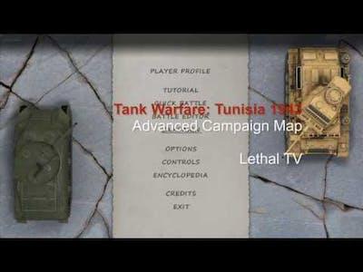 Tank Warfare: Tunisia 1943 Campaign Map Advanced