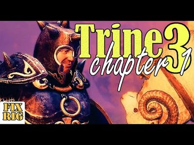 Trine 3 The Artifacts of Power Chapter 1, Pontius The Knight gameplay