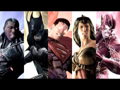 Injustice: Gods Among Us ★ ALL SPECIAL MOVES including DLC Characters 【No HUD / 1080p 60FPS】