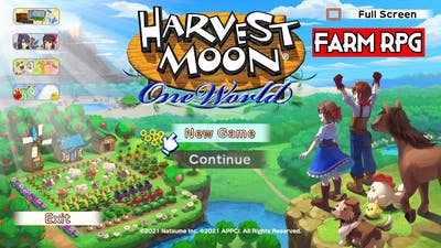 Harvest Moon One World | PC Gameplay