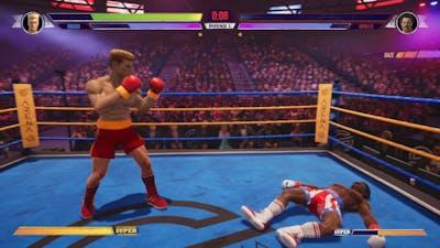Big Rumble Boxing: Creed Champions - Ivan Drago vs Apollo Creed (Arcade Mode)