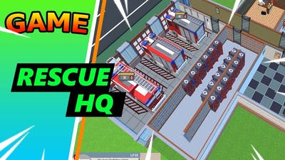 Rescue Hq - The Tycoon // walkthrough #1 // no commentary gameplay