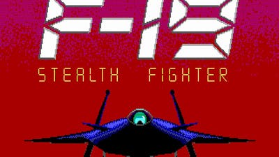 F-19 Stealth Fighter  - Video Game loop demo (PC MS-DOS,1988)