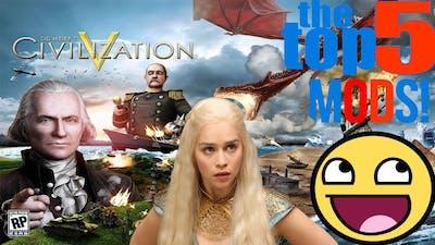 Another Top 5 Civilization V Mods