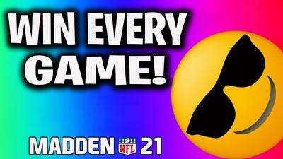 How To Win Every Game Without Passing! Madden 21 Run Scheme!