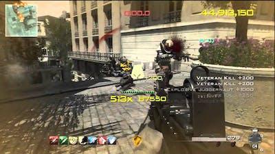 "MW3 ""Chaos Mode"" 100 Million Score - Call of Duty Modern Warfare 3 Gameplay"