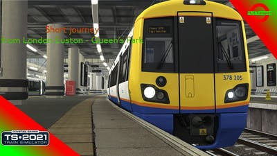 London Overground Euston to Queen's Park (TS 2021)