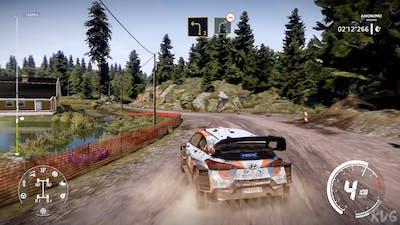 WRC 9 FIA World Rally Championship - Paijala Reverse (Neste Rally Finland) - Gameplay