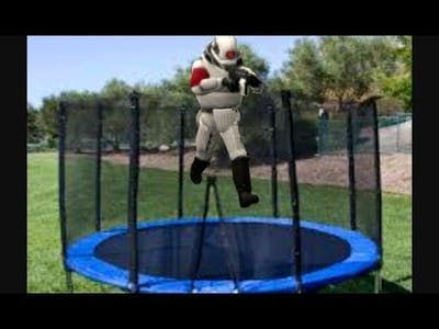 Portable Games #5: BOUNCY TRAMPOLINE