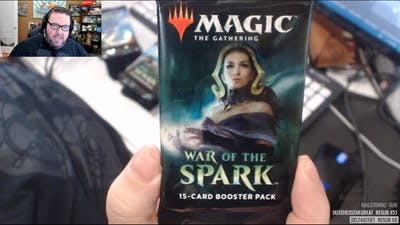 Big Stack Unboxing: War of the Spark!