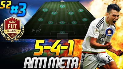 5-4-1 ANTI META STRATEGY - TRYHARDS RTG S2 #3 - FIFA 21 Ultimate Team - FUT CHAMPIONS GAMES
