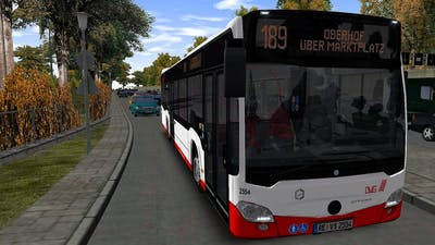 Omsi 2 Addon Projekt Gladbeck - Route 189 Stadion - Oberhof (PC)
