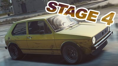 Need for Speed HEAT / Golf GTI / STAGE 1 TO STAGE 4