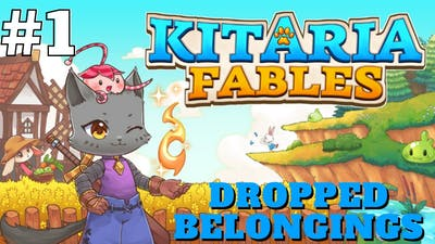 """Kitaria Fables: Quest #1 """"Dropped Belongings"""" 
