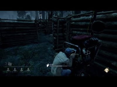 my first game of dead by deadlight